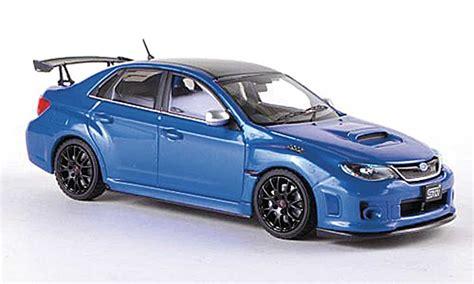 Diecast Subaru subaru impreza wrx sti s206 nbr challenge package blue