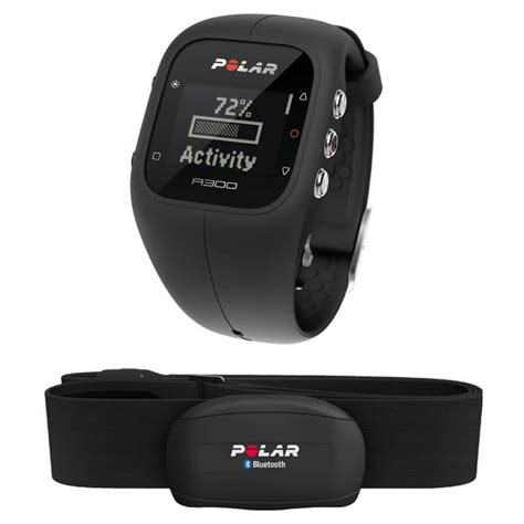 polar a300 hr fitness activity monitor