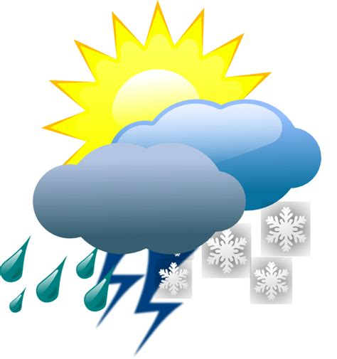 Weather Clip Art at Clker.com - vector clip art online ... Free Clip Art Weather Pictures