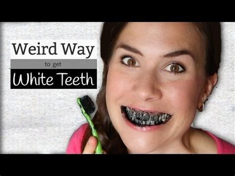 activated charcoal weird   whiten teeth mama