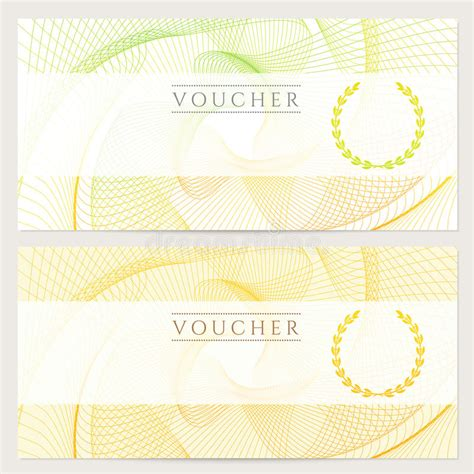 gift certificate voucher ticket coupon color royalty