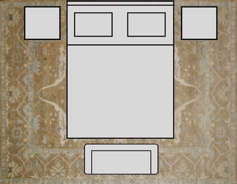 rug size for king size bed rug king rugs ideas