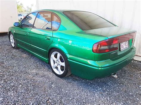 subaru liberty 1999 sold subaru liberty sedan 1999 green used vehicle sales