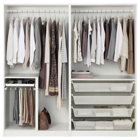 ikea pax wardrobe dimensions pax wardrobe white vikanes white 200x60x201 cm ikea