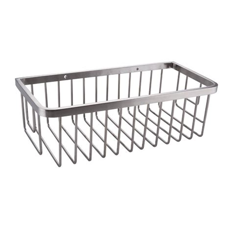 stainless steel bathroom basket bathroom shower caddy 10 rustproof rectangular bath