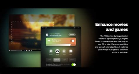 how to sync hue lights with philips hue sync app syncs your lights with