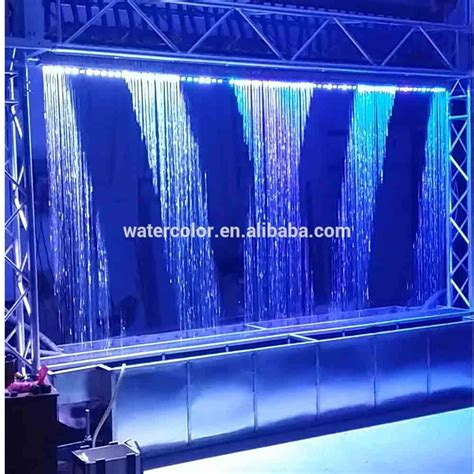 water curtains digital product digital fountain graphic water curtain