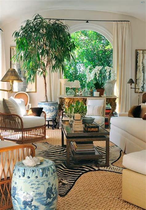 decorar a sala plantas sala decorada con plantas salas con estilo