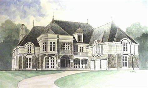 chateau house plan with 9611 square feet and 5 bedrooms 231 best images about dreamy homes on pinterest french