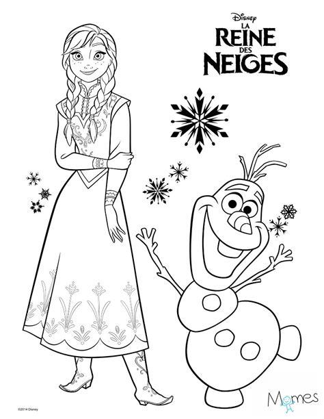 Coloriage Reine Des Neiges Elsa Momes Net