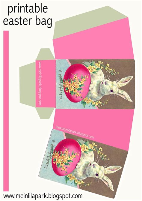 easter box templates free free printable diy easter bunny box ausdruckbarer