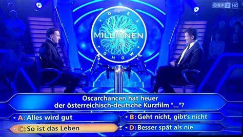 Friseur Com Mondkalender Kandidat Scheitert An Frage Zu Wiener Oscarfilm