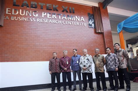 Mba Itb Bandung by Inauguration Of Gedung Pertamina Mba Business Research