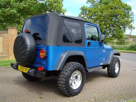 Jeep Financial Used 2004 Jeep Wrangler 4 0 Tr2 2dr 2004 For Sale In Luton