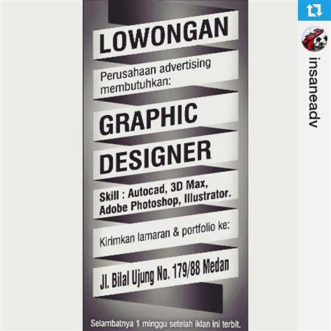 lowongan kerja web design 2015 insane advertising medan lowongan kerja lowongan kerja