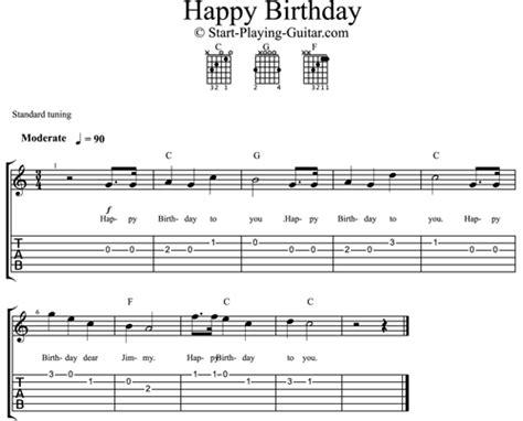 happy birthday guitar mp3 download easy happy birthday for guitar