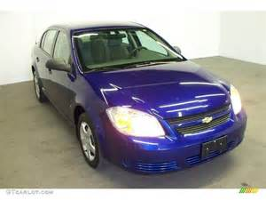 2007 laser blue metallic chevrolet cobalt ls sedan