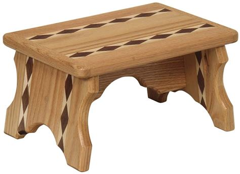 Amish Step Stool With Handle by Wooden Toys Magazine Racks Small Stuff Troyer S