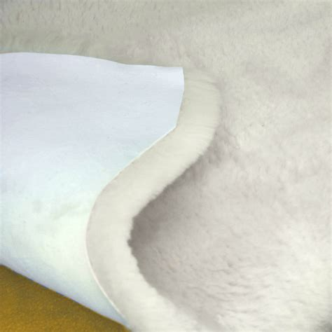 sheepskin rugs sheepskins baby lambskins new cozy mate baby lambskin sheepskin rug australian eco sanitized ivory ebay