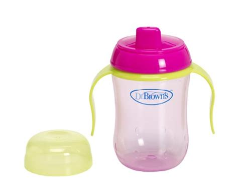 Dr Browns Soft Spout Toddler Cup 270ml Blue Biru dr brown s spout cup reviews best sippy cups on weespring
