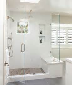 beautiful bathroom features walk shower fitted with white subway pics photos small floor plans modern design