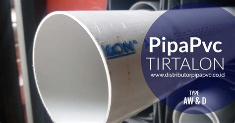 Pipa Air katalog pipa pvc tirtalon distributor pipa pvc