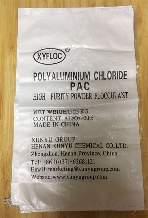 Pac Poly Aluminium Chloride pictures of polyaluminium chloride pac xunyu