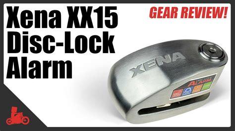 Jual Xena Alarm Disc Lock xena disc lock alarm review xx15