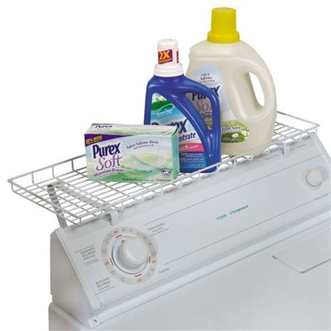 Washer And Dryer Storage Shelf washer dryer laundry room storage shelf organizer rack detergent holder mount ebay