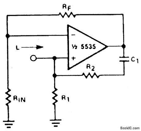 simulated inductor with op simulated inductor circuit 28 images patent us5235223 constant q peaking filter utilizing