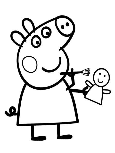 imagenes para pintar de peppa pig peppa pig colorear online juegos de peppa para colorear