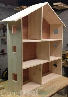 used wooden doll houses for sale simple wood doll house plans plans diy free download log bench make doll house pinterest
