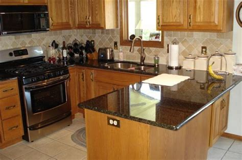 decorating ideas for kitchen countertops black kitchen countertops ideas capricornradio