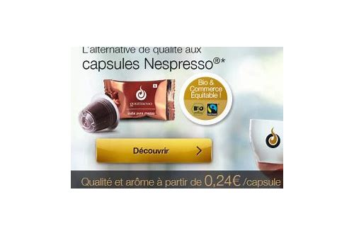 coupon de reduction capsules nespresso