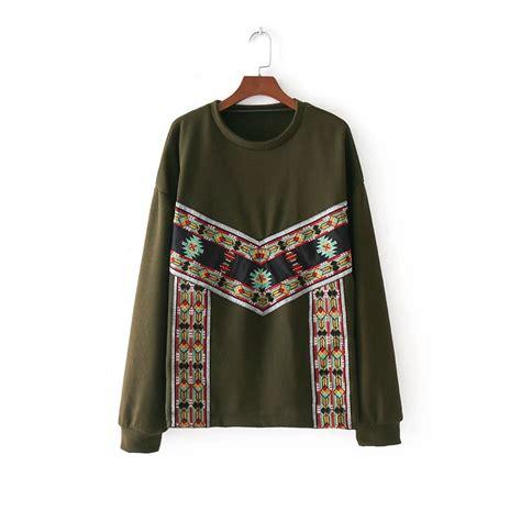 2018 new fashion vintage ethnic style sleeve