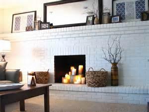 planning ideas painting brick fireplace ideas