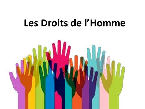 les droits de l homme