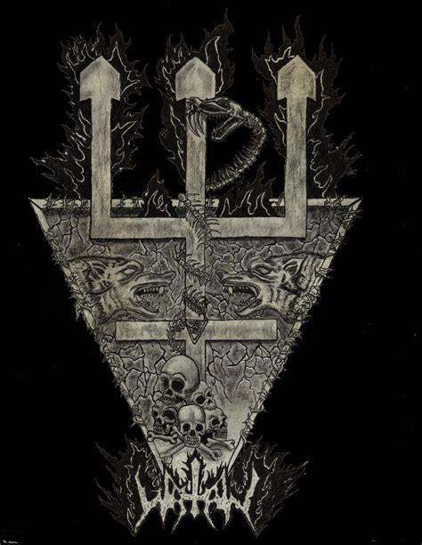 watain trident by skandinav666 on deviantart