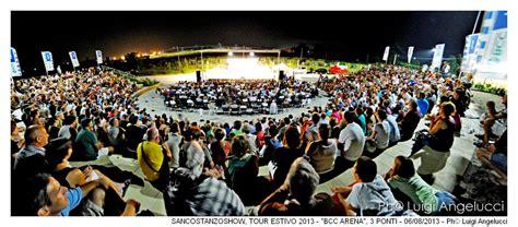 bcc fano san costanzo show con quot amici di zia quot all arena bcc