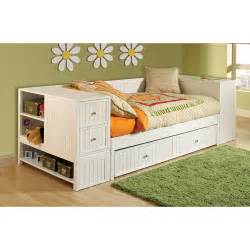 Daybed Modelleri 4 Daybed Set With Trundle And Chest White
