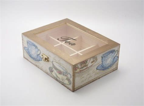 Decoupage Tea Box - 953 best decoupage wooden box images on tea