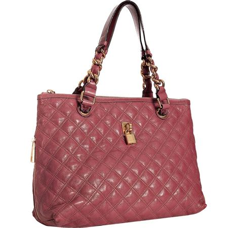 Marc Quilted Stella by Marc Quilted Lacquered Leather Zip