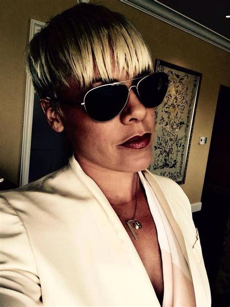 pinks new haircut 2015 p nk shows her new haircut pink photo 38457170 fanpop