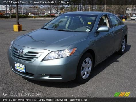 2007 Toyota Camry Green Aloe Green Metallic 2007 Toyota Camry Le Bisque
