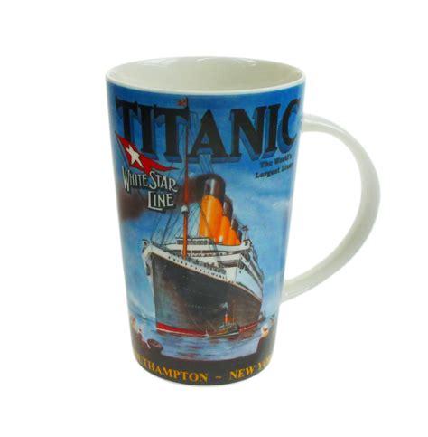 Plate Mug titanic mugs and plates