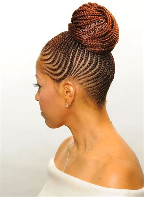 black hair braided buns super braided bun 2016 for african american women buns