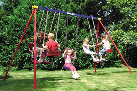children s swing sets gin replaces children s swings in the inflation basket