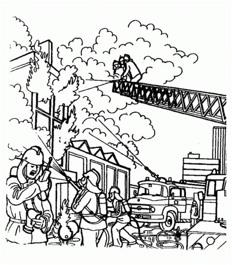 firefighter coloring page fireman coloring pages coloringpages1001