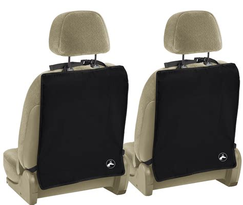 Seat Mats by Kick Mats For Auto Car Back Seat Cover Care Kid Protector