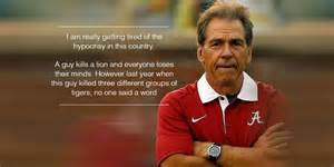 Nick Saban Memes - what does alabama football have to do with cecil the lion